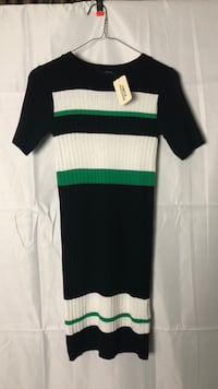 green and black striped crew-neck shirt Leesburg, 20175