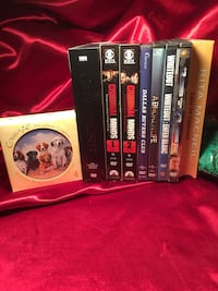 Game of Thrones, $15, Criminal Minds $15 each,Ceramic dog coasters, never used $10, other dvd's $2 each St Thomas, N5P 1Z9