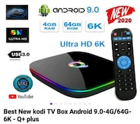 New Android Q+ TV Box Android 9.0