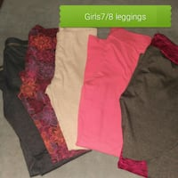 5 pairs girls 7/8leggings Goshen, 46526