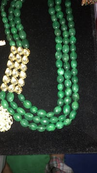 green and white bead lot Old Bridge, 08857