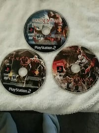 three assorted PS3 game discs Oakton, 22124