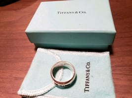 Tiffany & Co Sterling Silver Ring