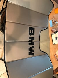 BMW windshield shade oem sold only st BMW with case