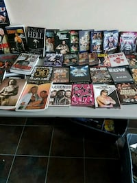 PRO WRESTLING BOOKS AND DVD VIDEO AND VHS TAPES  Mississauga, L4Z 3P4