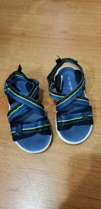 Toddler Size 8 Sandals from Carters  Toronto, M1N 2H2