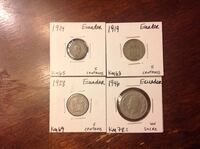 Old coins from Ecuador Falls Church, 22046