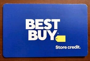 must sell gift card