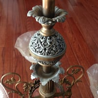 Antique Chandelier early 1900's Pataskala