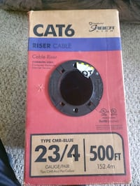 250+ feet of Cat6 Cable W/ Crimper North Kingstown, 02852