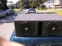black Kicker subwoofer with enclosure Lanham, 20706