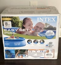 Intex 8x30 Pool With Filter And Pump