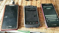 2 Motorola Android phones and 1 BlackBerry Mansfield, 02048
