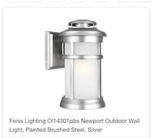 Generation Lighting Wall Lantern ($229) Two Available for purchase
