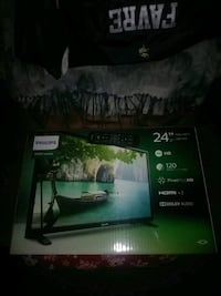 24 inch philips flat screen TV