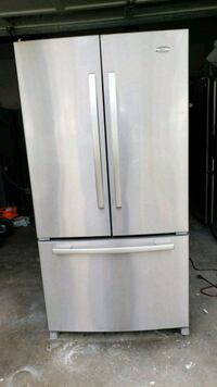 Refrigerator Whirlpool Stainless steel  Lawrenceville, 30046