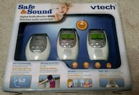 Vtech safe and sound Audio monitor Mississauga, L4W 2X9