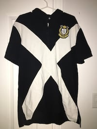 black and white Tommy Hilfiger polo shirt Kitchener, N2G 4W1