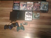ps2 with 43 games and 1wireless remote control and 2 regular remotes Milwaukee, 53209