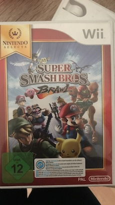 Nintendo Wii Super Smash Bros Schlägerei Fall