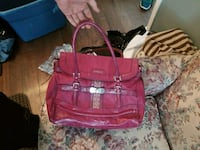 women's pink leather tote bag Prince George, V2L 2A6