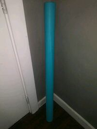 ***BLUE PLASTIC TABLE COVER ROLL!***