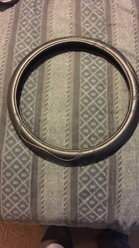 Leather steering wheel cover  Kinsey, 36303