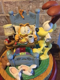 The First Garfield Musical Figurine Collection Knoxville, 21758