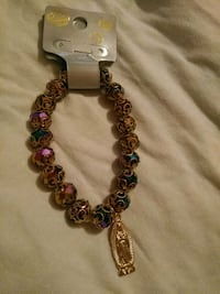 brown and pink beaded bracelet Patterson, 95363