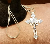 New! 925 Sterling Silver Jesus On The Cross/Cruici