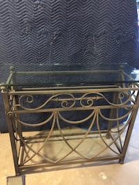 Magnificent iron glass top console Mantoloking, 08738