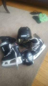 pair of black-and-gray inline skates Laval, H7N 1W1
