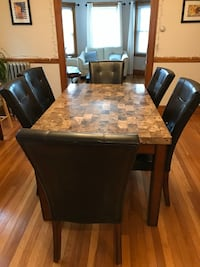 Dining Room Table Set - with 6 chairs-$325 in excellent condition!!!