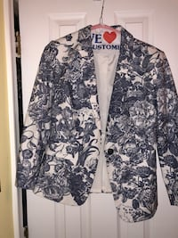 Loft blue and white floral blazer Arlington, 22201