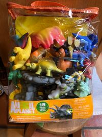 Dino Adventure Playset 15 pieces (New) Richmond