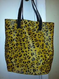 Cheetah print tote Washington, 20011