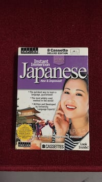 Learning Japanese Cassettes  Las Cruces, 88012