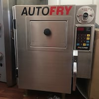 Autofry Venlesss Frying Machine, quick service snack shop equipment, no Hood required to operate San Jose, 95112