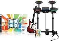 Guitar Hero Full set