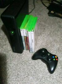 Xbox 360 6 games 1 controller  St. Catharines, L2T 0A1