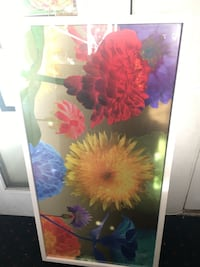 red and yellow flowers painting Vista, 92084