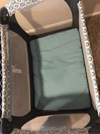 Disinfected Graco Baby Crib and Walker
