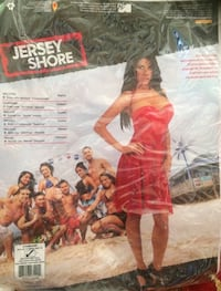 New - Jersey Shore Red Costume, One Size up to Dress Size 12 Washington, 20007
