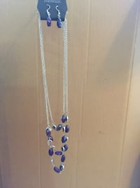 silver-colored and blue beaded necklace Prescott Valley, 86314