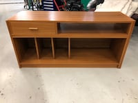Tv Stand. Dimensions are 28 1/2 inches long 18 1/2 inches wide X 23 1/2 inches height
