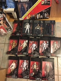 Star wars black series collectables