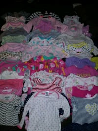 Over 60 pieces baby's assorted clothes Tucson, 85711