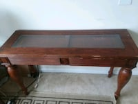 Wood wall or sofa table Clarksburg, 20871