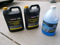Antifreeze Coolant and Windshield Cleaner