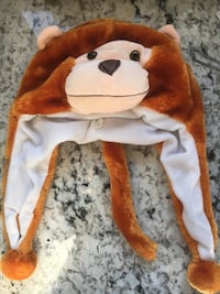 Toddler animal hat brand new